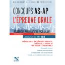 Concours AS-AP 2019 • L'épreuve orale