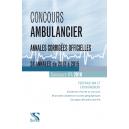 Concours ambulancier 2016 – Annales corrigées officielles