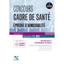Concours cadre de santé 2017 - Épreuves d'admissibilité