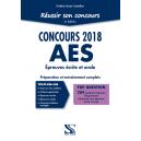 Réussir son concours AES 2018 - Tout-en-un
