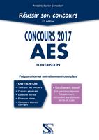 Reussir son concours AES 2017 - Tout-en-un