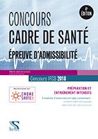 Concours cadre de sante 2018 - Epreuves d admissibilite
