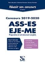 Reussir son concours ASS-EJE-ES-ME 2019-2020  Tout-en-un