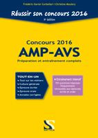 Reussir son concours AMP-AVS 2016 - Tout-en-un
