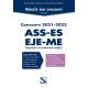 Réussir son concours ASS-ES-EJE-ME 2021-2022 • Tout-en-un