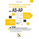 Dictionnaire de la relation et de la communication des AS-AP